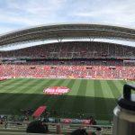 埼玉スタジアム2002のテーブルシートで観戦してきました|子連れもOK!雨でも大丈夫!