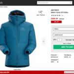 Mountainsteals.comにてアーク・パタゴニア製品が激安セール中