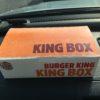 【BK】バーガーキングのキングボックス(KING BOX)が冗談抜きで満足度高い件