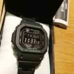 【G-Shock】CASIO GW-M5610BC-1JFを買う|スーツもOK!登山用プロトレックPAW1300T-7Vは売却