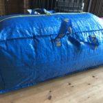 イケア・FRAKTA トロリー用バッグが大型ビニールプールの収納に最適|キャリーバッグ