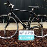 【外構】Cannondale (キャノンデール)Roadwarrior 600を庭のオブジェとして再利用|自転車を庭に飾りました