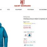 【パタゴニア個人輸入】saintbernard.comでPatagonia nano air hoody(ナノエアフーディ)が2万前後で買えそう