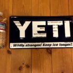 【看板】YETI METAL SIGNの輸入