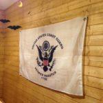 輸入フラッグの設置(US president&coast guard)|ハトメの取り付け方についても