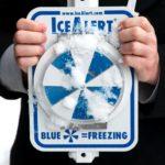 【Made in USA】凍結注意を知らせるアイスアラート(IceAlert)看板がカッコいい