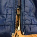 【パタゴニア】ナノパフジャケットのジッパーがまた壊れる