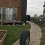 【外構作り】コンクリートアプローチにするとタイヤ交換が楽です|保管場所と青空洗車についても