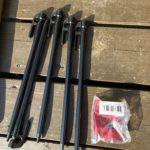 村の鍛冶屋でエリステ28cmとアルミ自在金具を購入