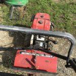 三菱製ヴィンテージ耕運機で畑を耕しました