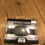 【ヘッドライト】夜の薪運び用にBlackdiamond Astroを買いました