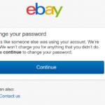 【確定】ebayアカウントが不正使用されてました