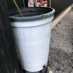 雨水タンクの汚泥を除去する、だがしかし