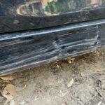 薪屋でステップワゴンのサイドガーニッシュを擦った件